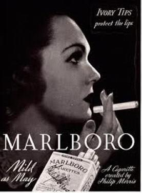 early Marlboro ad