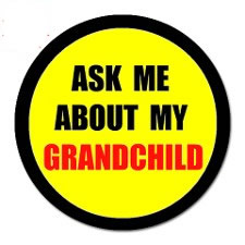 ask me about my grandchile sticker