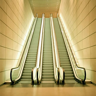 mall escalator