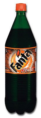 Fanta chinotto bottle