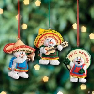 Mexican ornaments