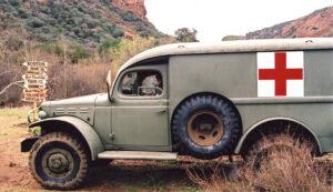 MASH ambulance