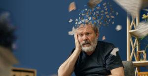 man losing memory