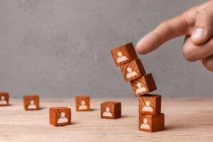 falling wooden blocks